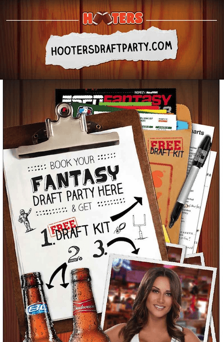Why Draft at Hooters 2013